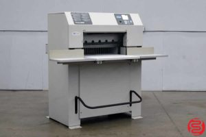 Challenge Titan 265 26.5 Hydraulic Programmable Paper Cutter - 042420080040