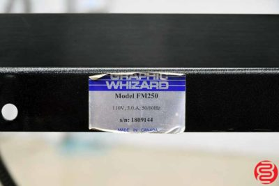 Graphic Whizard FM250 Vacuum Feed Paper Folder - 042320090430