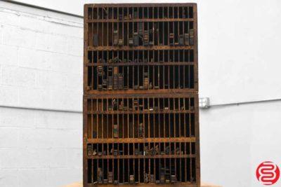 Hamilton Letterpress Furniture Cabinet - 051220102040