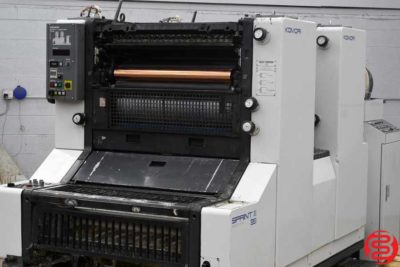 Komori Sprint II 228 Two Color Offset Press - 050420094920