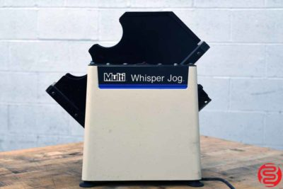 Multigraphics Whisper Jog 400-AM Paper Jogger - 050820083720