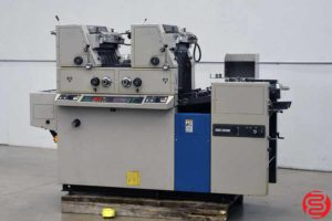 Ryobi 3302M Two Color Offset Printing Press - 050120094640