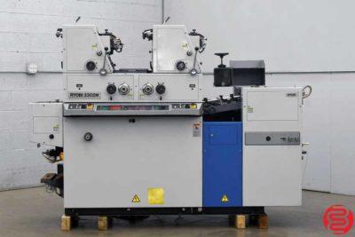 Ryobi 3302M Two Color Offset Printing Press - 050420025540