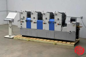Ryobi 3304H Four Color Offset Printing Press - 060920091130