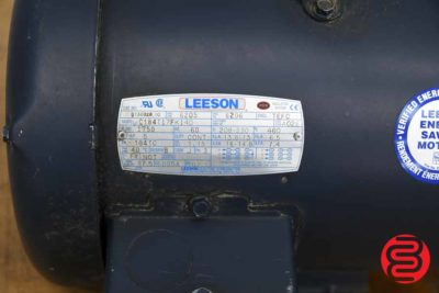 Leeson 5 HP Electric Motor - 061120024930