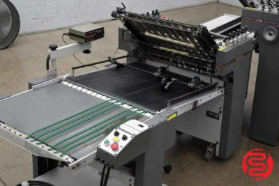 Baumfolder Legend Continuous Feed Paper Folder w/ 8 Page Unit - 061820115910