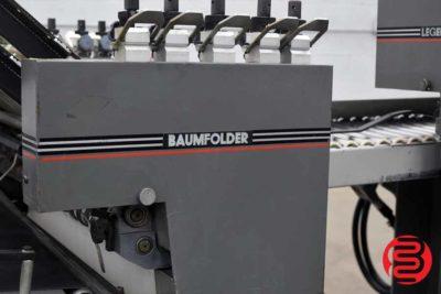 Baumfolder Legend Continuous Feed Paper Folder w/ 8 Page Unit - 061820115910