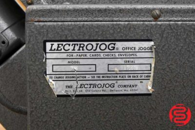 LECTROJOG 775 Table Top Paper Jogger - 060220095050