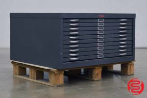 Foster Flat Filing Cabinet - 10 Drawers - 060420093150