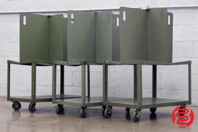 Quadracart Paper / Bindery Cart - Qty 3 - 062220014540