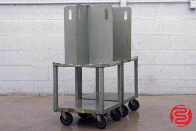 Quadracart Paper / Bindery Cart - Qty 2 - 022220022120