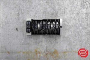 Numbering Machine - 062220030120