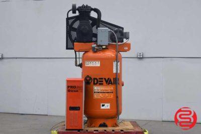 2000 Devair 70 Gallon Air Compressor - 062520075950