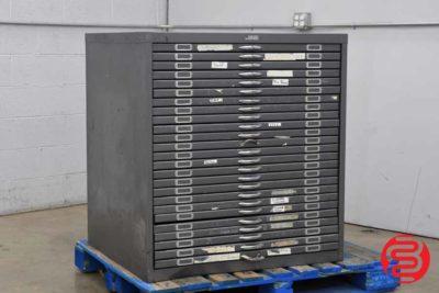 Flat Filing Cabinet - 063020105250
