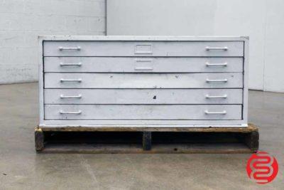 Flat Filing Cabinet - 070120082330