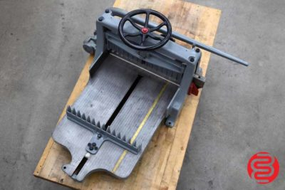 Chandler and Price Lever Paper Cutter - 070620094050