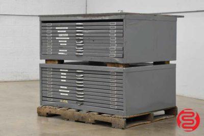 Flat Filing Cabinet - Qty 2 - 070820121620