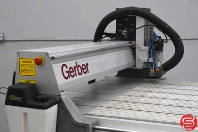 Gerber 408 Table Top Wide Format Router - 071620084910