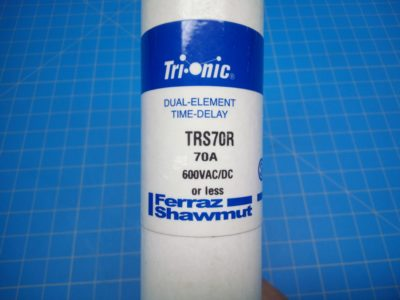 Trionic Time Delay Fuse TRS70R 600VAC - P02-000077