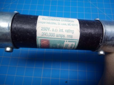 Fusetron Time Delay Fuse FRN-R- 100 250V - P02-000080