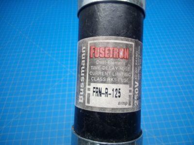 Fusetron Time Delay Fuse FRN-R-25 250V - P02-000081
