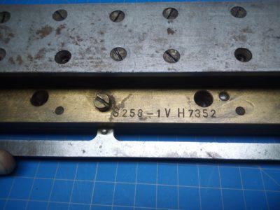 GBC / Sickinger S258/1V H7352 USP 3:1 Oval Punch Die - P02-000105