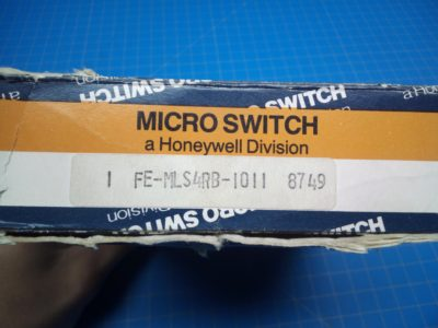MicroSwitch FE-MLS4RB-1011 - P02-000156
