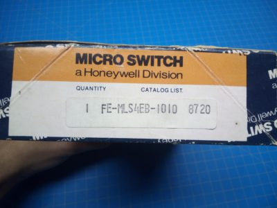 MicroSwitch FE-MLS4EB-1010 - P02-000153