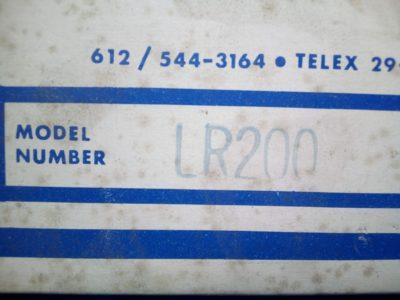 Banner LR200 - P02-000188