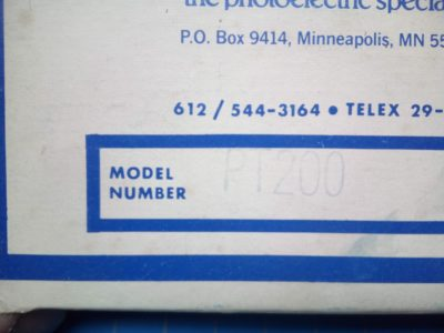 Banner PT200 - P02-000189