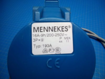 Mennekes 193A Adapter Cable - P02-000200