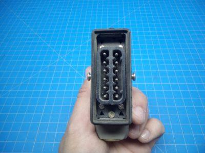 12 Pin Male Plug - P02-000202