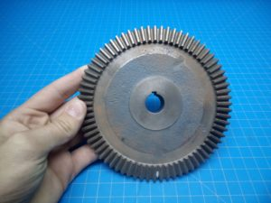 "Gear 6"" Diameter 18MM shaft size - P02-000211"