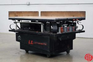 IS LOM4258L Large Format Paper Jogger - 081920111910