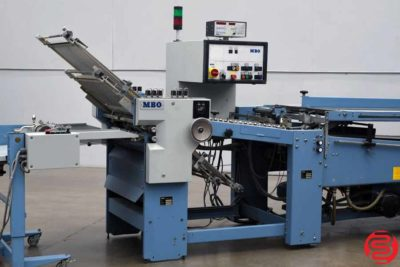 MBO B26 4-Fold Continuous Feed Paper Folder - 082120082530