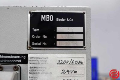 MBO Z2 Knife Folder - 082620034840