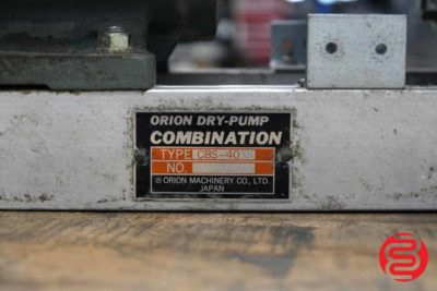 Orion CBS-40 Dry-Pump - 080320082850