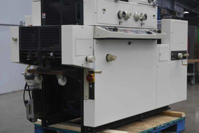 Ryobi Itek 3985 Two Color Offset Printing Press - 090920084750
