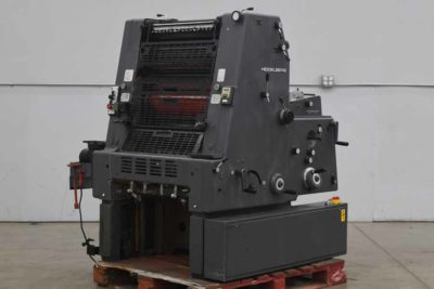 Heidelberg GTO 52 One Color Offset Printing Press - 090920021010