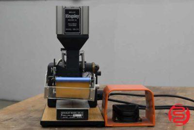 Kingsley AM-101 Pneumatic Hot Foil Stamping Machine - 091120075940