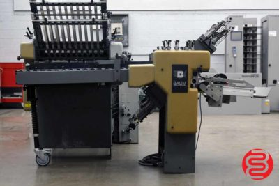 Baum 2020 Continuous Feed Paper Folder w/ 8 Page Unit and Mobile Delivery - 091120115930