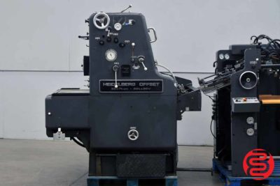 Heidelberg SORM 52 Single Color Offset Printing Press - 091720123520