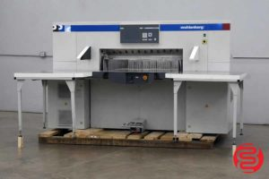 "2006 Wohlenberg 115 45"" Programmable Paper Cutter - 091820094040"