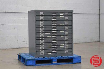 Flat Filing Cabinet - 092420115940