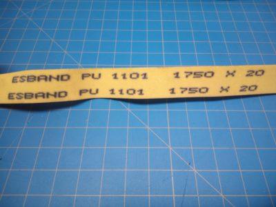 MBO Belt 1750 x 20 - P02-000273