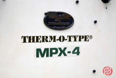 Therm-O-Type MPX-4 Business Card Slitter - 101420080420
