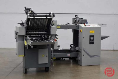 Baum 2015 Pile Feed Paper Folder w/ 8 Page Unit - 102720035410