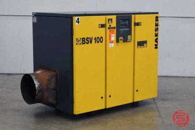 2005 Kaeser 25hp Rotary Screw Vacuum Pump BSV 100 - 102920082040