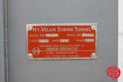 Shanklin T-6F Hy-Velair Shrink Tunnel - 092520104740