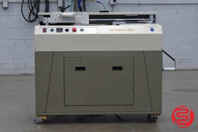 Rosback 850 Perfect Binder - 092520114530
